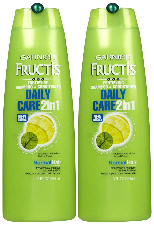 Garnier Fructis Daily Care 2-in-1 Shampoo & Conditioner - 13 oz - 2 pk