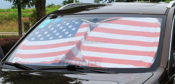 Flag Printed Sun Shade Sun Visor For Suv Truck Front Windshield ... de191b2b41c