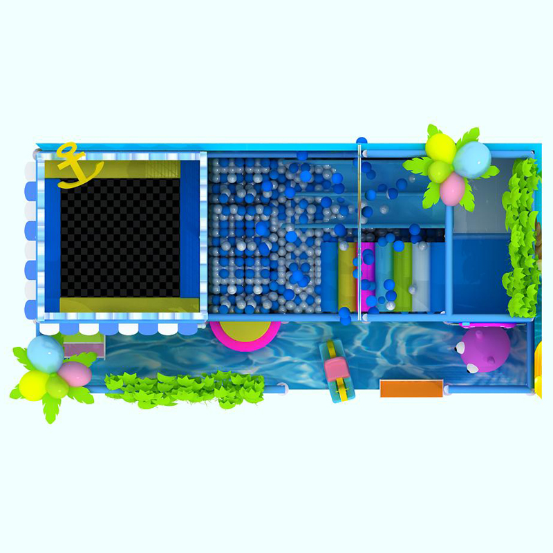 Ocean Star theme children commercial indoor playground equipment