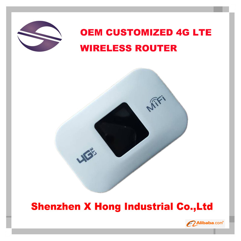 Customized 4G Mobile WiFi Hotspot Wireless Router Unlocked Portable WiFi LTE Router