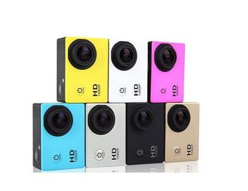 Factory Price 2 inch screen 720P Mini Action Sports Camera SJ4000 sport DV underwater 30M action camera