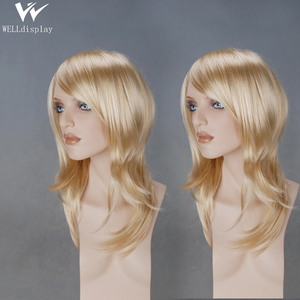 wholesale real human hair african american makeup manniquin heads wig realistic display mannequin head on sale
