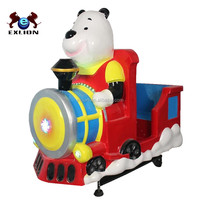 Amusement Kiddie Ride 3d Racing Small Train Kids Game Sewing Machine For Sale