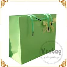 Recyclable Luxury Style Printed chips packaging bags with ribbon string