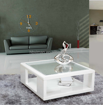 Modern Granite Top High Gloss Coffee Table Design Buy Italian