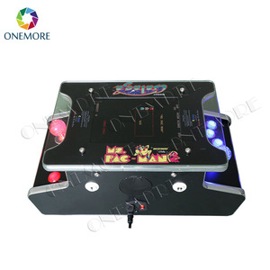 60 in one mini 2 sides 2 player arcade cocktail machine coffee table game machine for sale