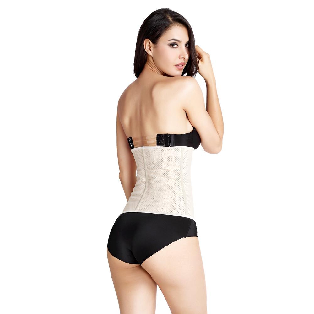 5878c9e1d 2018 Sport Latex Waist trainer Faja Colombiana Corset waist training  corsets Ann Chery waist shaper wholesale