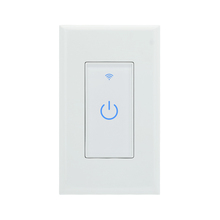 Mobile APP Wireless Control Touch Light Switches Smart Home WiFi Wall Switch