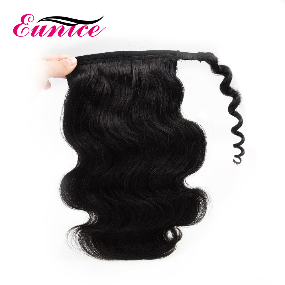Wholesale Price Wrap Around Ponytail Brazilian Wrap Around Ponytail 100% Brazilian Ponytail For Short Hair