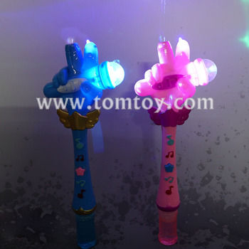 Microphone Led Bubble Wand