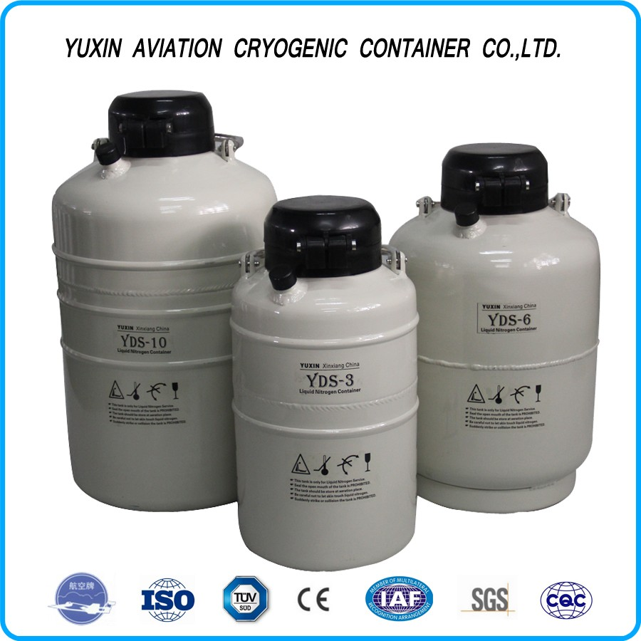 Poultry farms tools and equipment liquid nitrogen sperm storage container