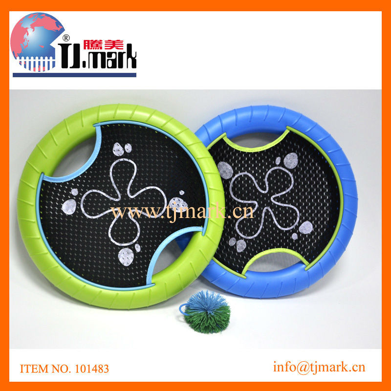 BEACH SPORT GAME TRAMPOLINE PADDLE BALL