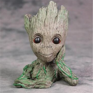 Hot sell Groot figures baby groot flower pot Guardians of the Galaxy Marvel Funko pop toys