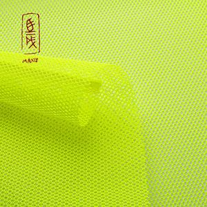 Wholesale new promotion high quality fancy knitted super cycling poly mesh fabric