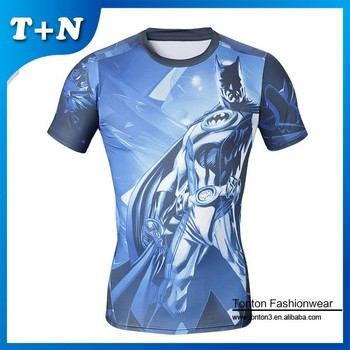 custom printed sport compression t shirts compression wear