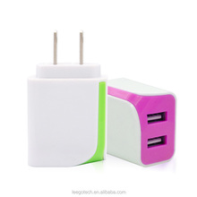 Competitive price 5v 2.1a usb wall charger ,home travel usb charger