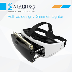 3D VR Virtual Reality Headset 3D Glasses For 3D Movies and Games(Focal and Pupil Distance Adjustable Headset..