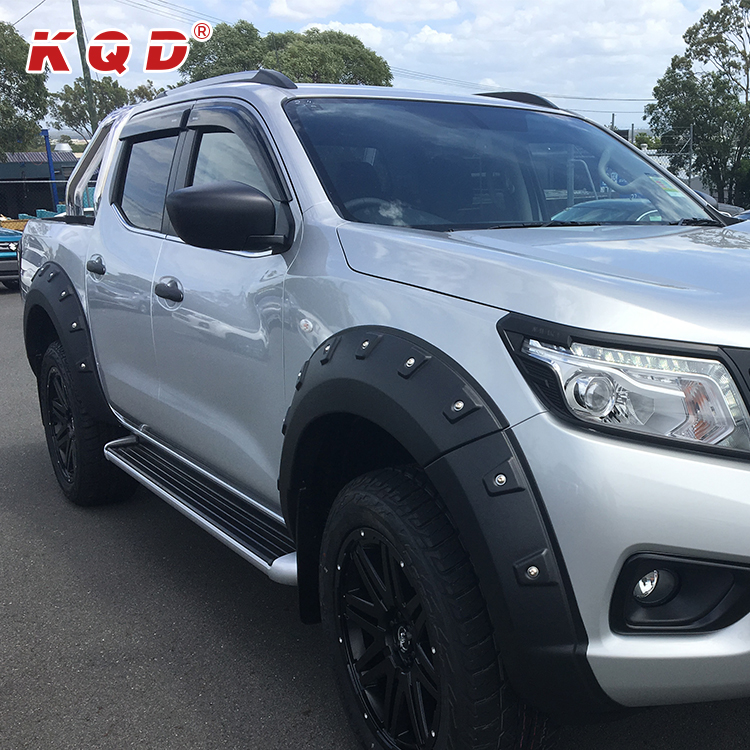 abs universal fender flares 4x4 body kit for nissan navara np300 2016