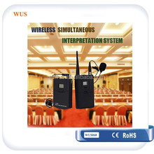 International Legal Tour Guide System/Language Translation Equipment/Simultaneous Interpretation System for 6 language translate