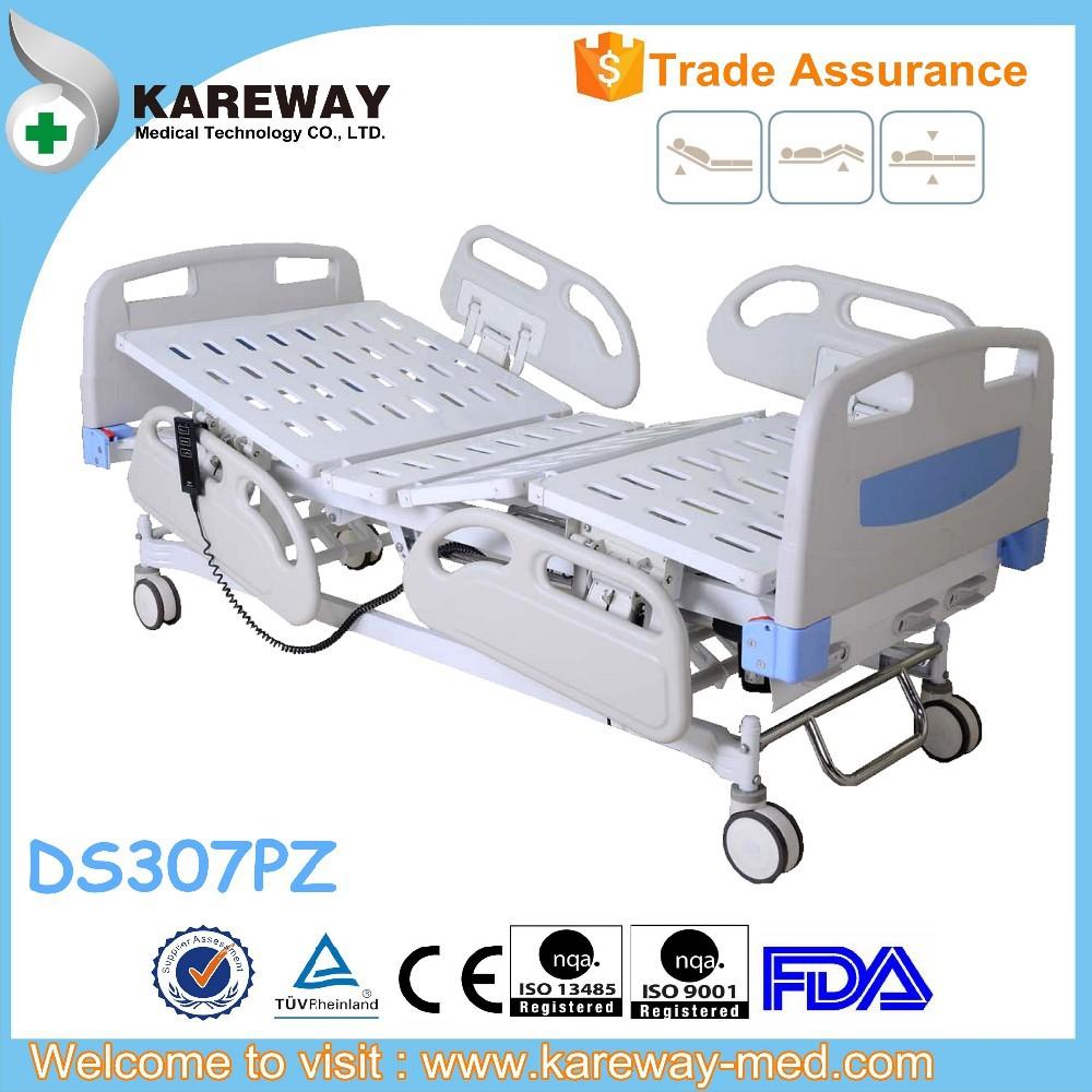 Tres funciones linak motorizado camas de hospital-Camas de metal ...