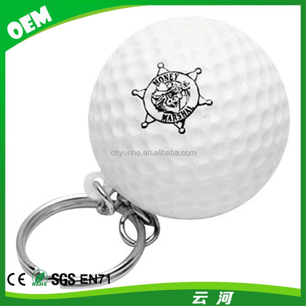 Winho Golf Ball Stress Ball Keychains With your logo