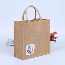 Eco-friendly jute linen bag shopping useful