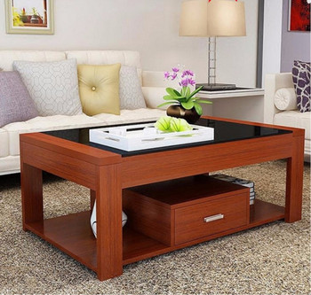 High quality elegant led touch screen coffee table