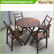 Modern Cheap Outdoor Garden Wooden Furniture for Table&Chair