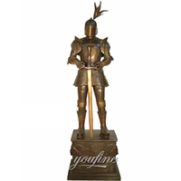 Garden Decoration Statue Bronze Armor