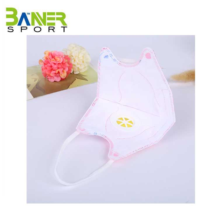 Breathing valve cartoon child PM2.5 reusable antibacterial face mask