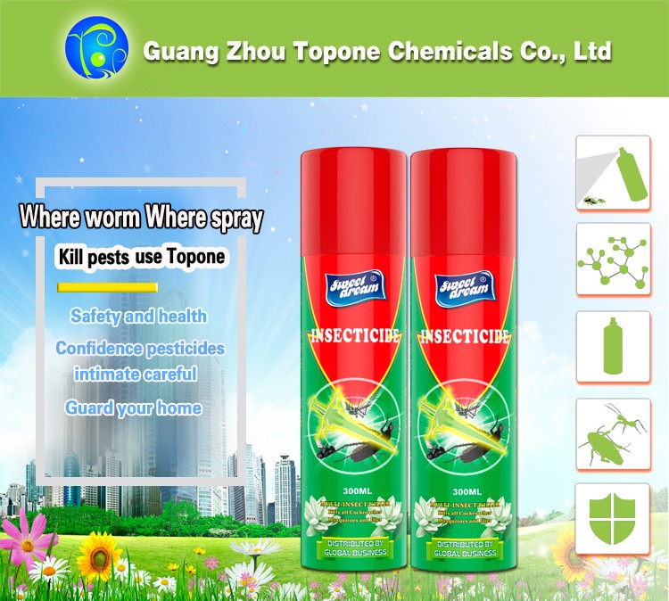 300ml Household and Office Pesticide Insecticide Spray in Pest Control