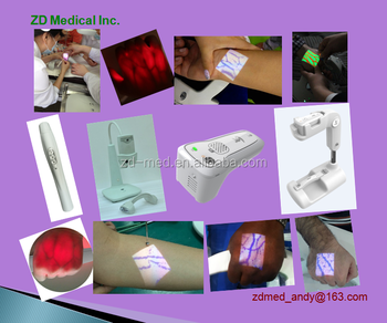 Lamp To Visualize Blood Vessels For Injection
