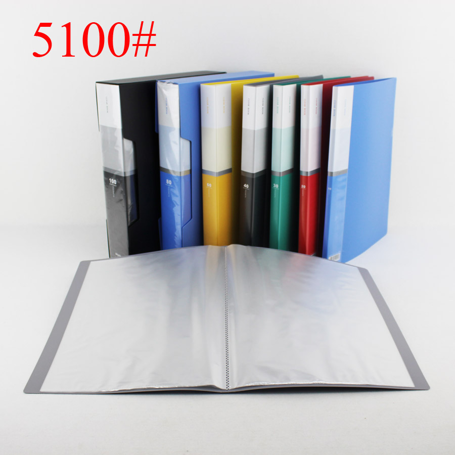 High Quality A4 <strong>PP</strong> 100 pockets Clear Book Display Book