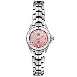 TAG Heuer Women's WJ1315.BA0573 Link Quartz Pink Mother of Pearl Watch