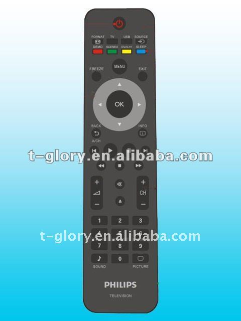 rca learning code universal remote control with BV & UL