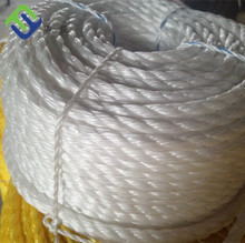 Polypropylene Poly Twisted Rope 9mm*200m With White Color