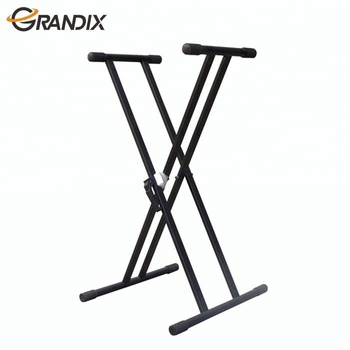 Heavy Duty Cheap Custom foldable Musical Instrument Single X Keyboard Stand
