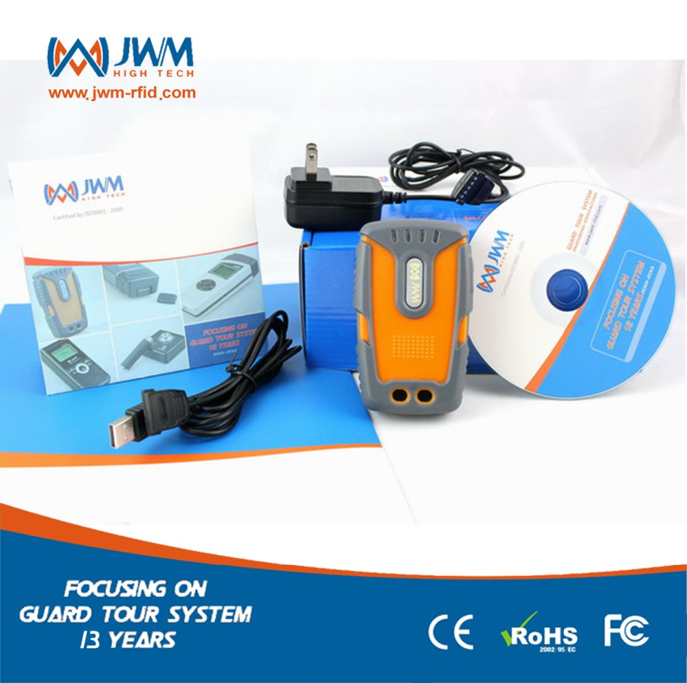 Guard Tour Patrol and Check Point Monitoring System with GPS and GPRS transmission WM-5000LG