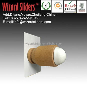 NEW Clear Wooden Cylindrical Door Stopper With Hook/heavy Duty Door Stoppers/high  Quality