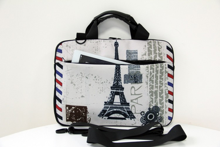 College Students Business People Office Workers Laptop Bag Bright White Hare On White 15-15.4 Inch Laptop Case Briefcase Messenger Shoulder Bag for Men Women