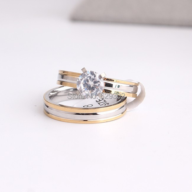 Popular His Her Wedding Ring Sets-Buy Cheap His Her