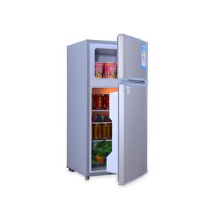 12 Volt Fridge >> Bcd 98b Portable 12 Volt Fridge Freezers Double Door Refrigerator Stand