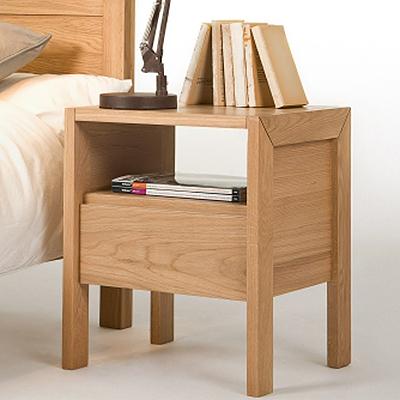 bois minimaliste japonais casiers ikea chevet de chambre. Black Bedroom Furniture Sets. Home Design Ideas