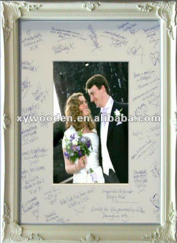 wedding signature frame buy wedding signature frame photo frame western photo mount product on alibaba com wedding signature frame buy wedding