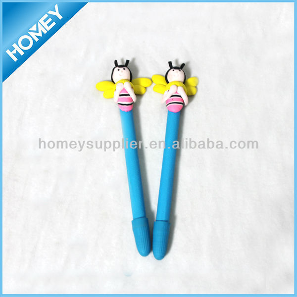 bee pen, animal pen, polymer clay pen