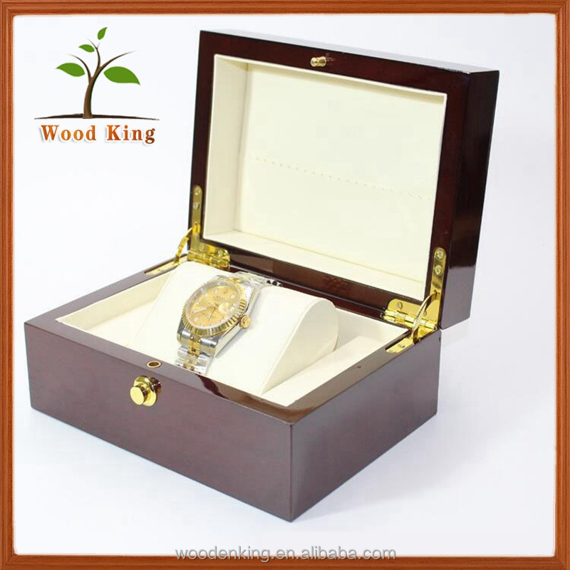 Top Selling Products 2017 Custom Luxury Watch Boxes Cases And Custom Logo High Gloss Wooden Watch Box