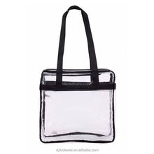 Newest selling Clear Plastic Tote Bag Women Waterproof Transparent Beach PVC Shoulder Bag