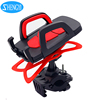 Universal plastic bike mobile phone holder mount smart phone holder stand for bicycle