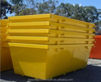 Heavy duty Skip Bins,Hook lift Bins and Crane Lift Bins