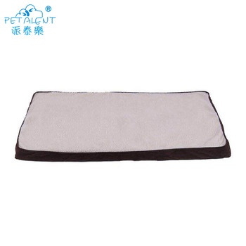 Long plush healthy memory foam Orthopedic pillow for pet dog bed
